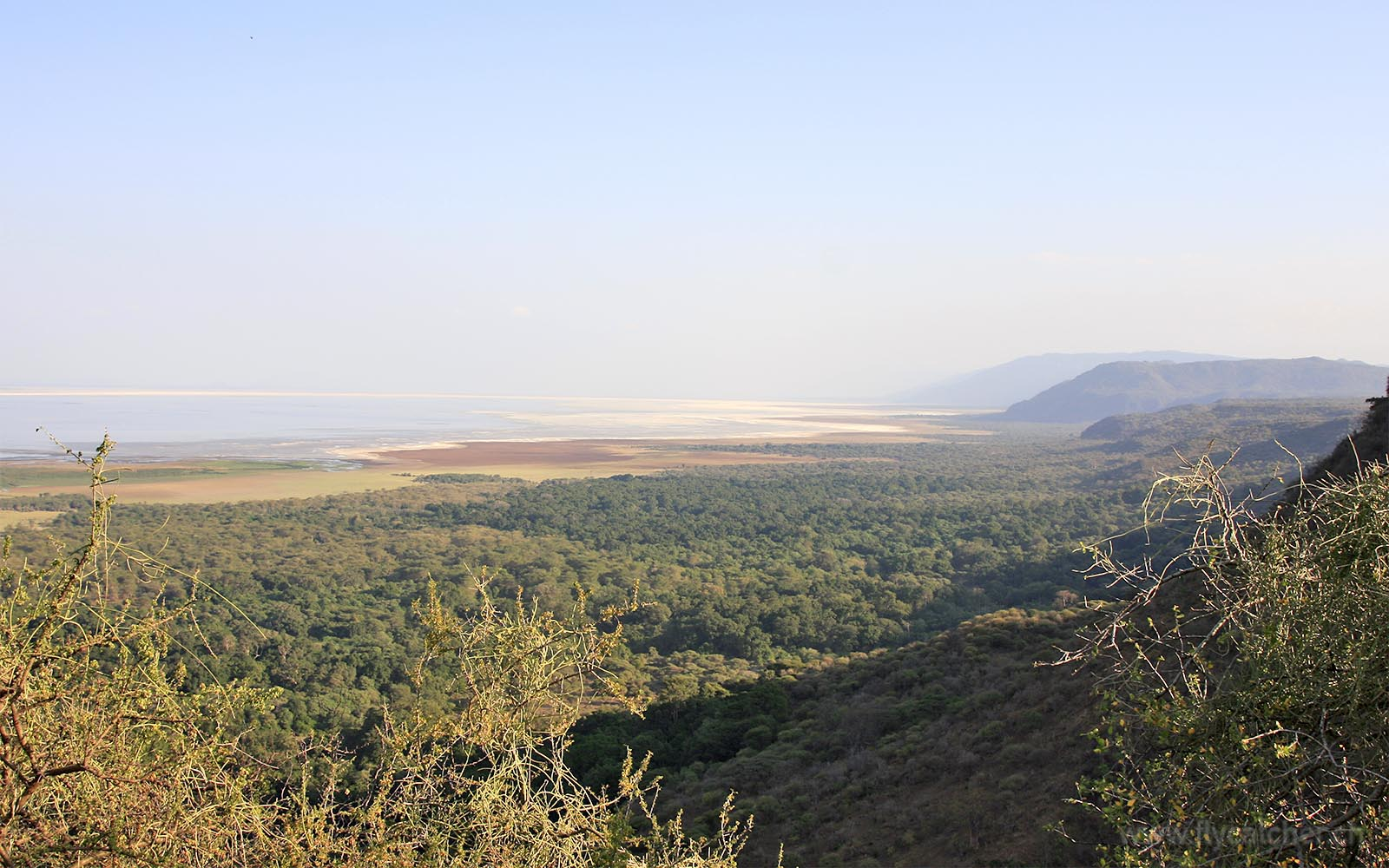 Landschaft des Lake Manyara Nationalparks